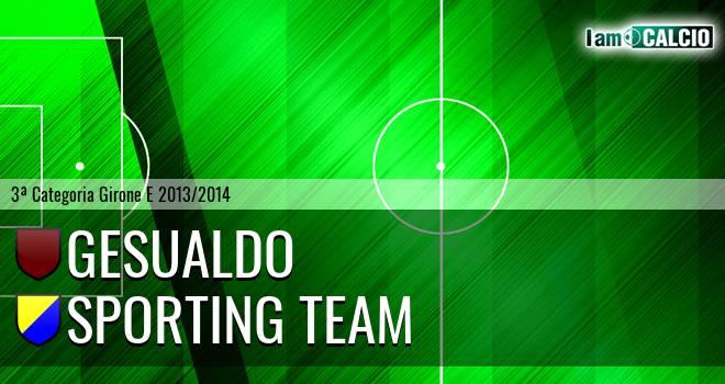 Gesualdo - Sporting Team Maroso