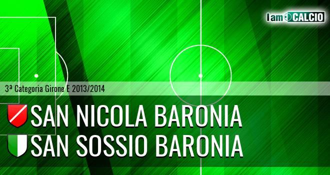 San Nicola Baronia - San Sossio Baronia