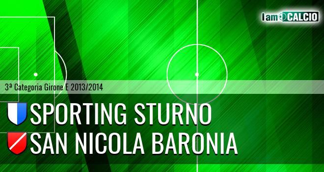 Sporting Sturno - San Nicola Baronia