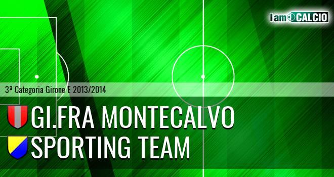 GI.FRA Montecalvo - Sporting Team Maroso