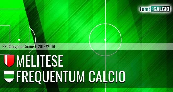 Melitese - Frequentum Calcio