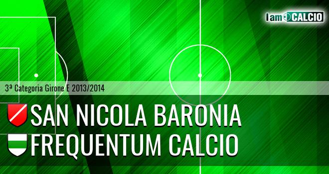 San Nicola Baronia - Frequentum Calcio