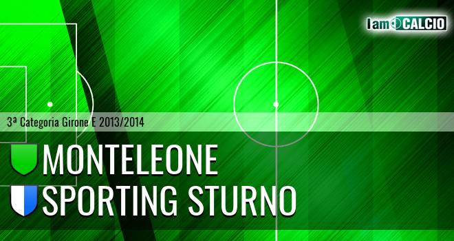 Monteleone - Sporting Sturno