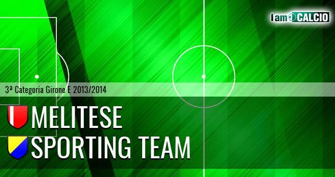 Melitese - Sporting Team Maroso