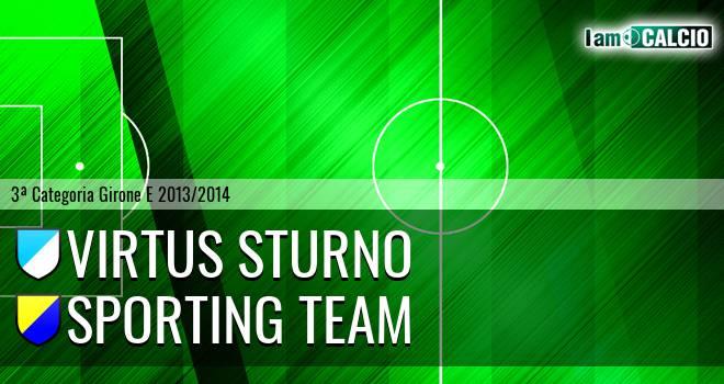 Virtus Sturno - Sporting Team Maroso