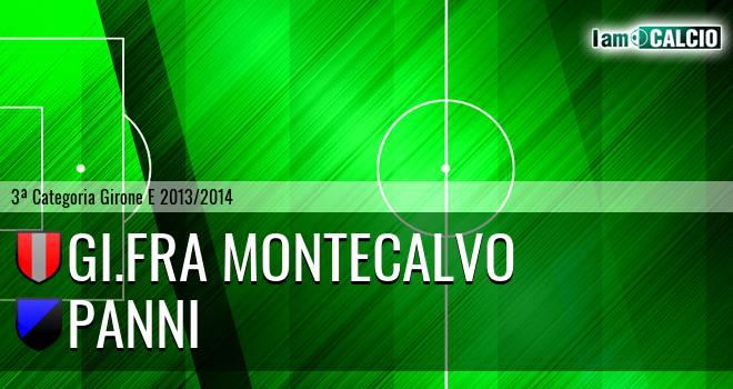 GI.FRA Montecalvo - Panni