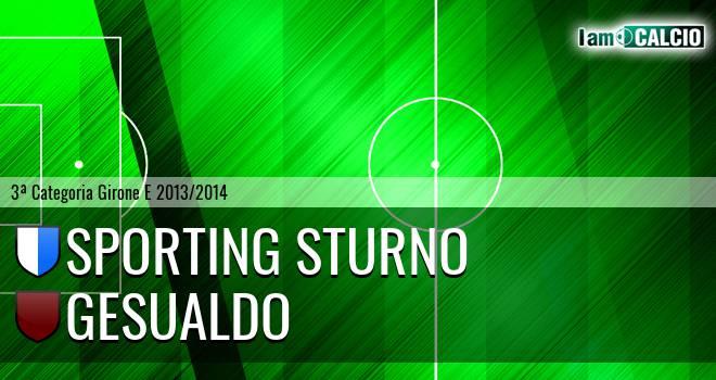 Sporting Sturno - Gesualdo