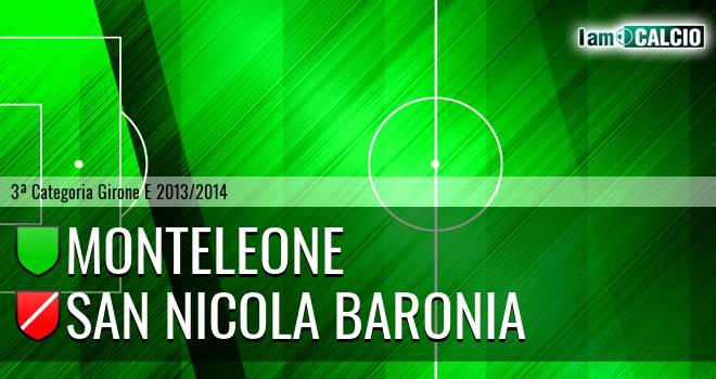 Monteleone - San Nicola Baronia