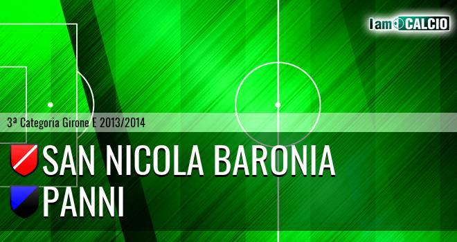 San Nicola Baronia - Panni