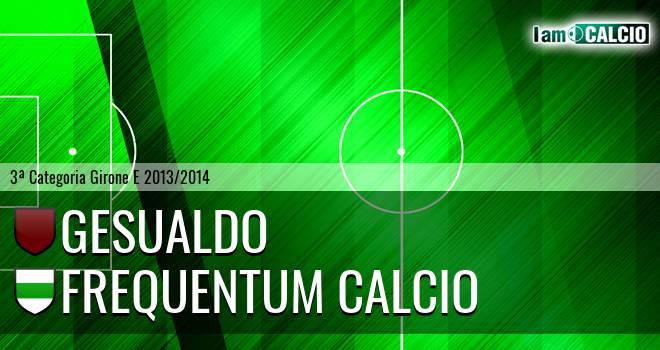 Gesualdo - Frequentum Calcio