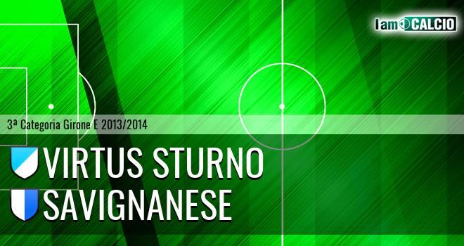 Virtus Sturno - Savignanese