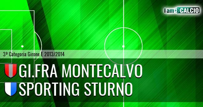 GI.FRA Montecalvo - Sporting Sturno