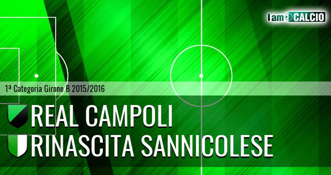 Real Campoli - Pol. Rinascita Sannicolese