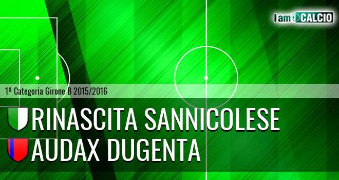 Pol. Rinascita Sannicolese - Audax Dugenta