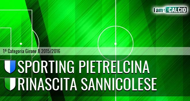 Sporting Pietrelcina - Pol. Rinascita Sannicolese