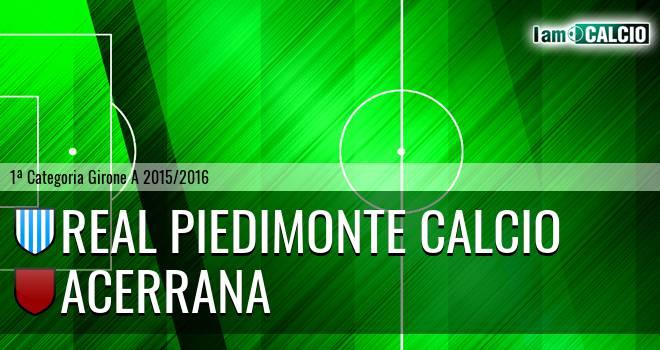 Real Piedimonte Calcio - Acerrana