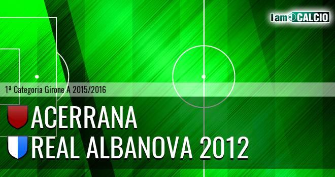 Acerrana - Real Albanova 2012