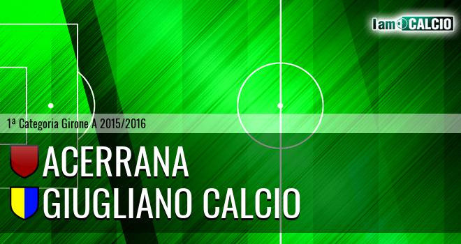 Acerrana - Giugliano Calcio