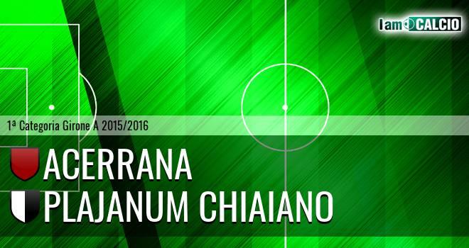 Acerrana - Plajanum Chiaiano