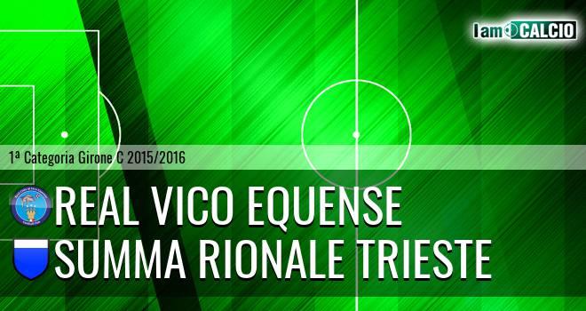 Real Vico Equense - Summa Rionale Trieste