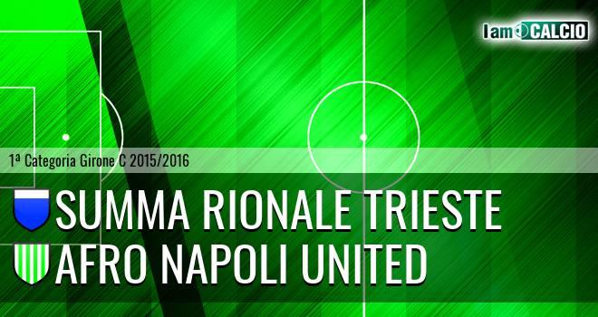 Summa Rionale Trieste - Afro Napoli United