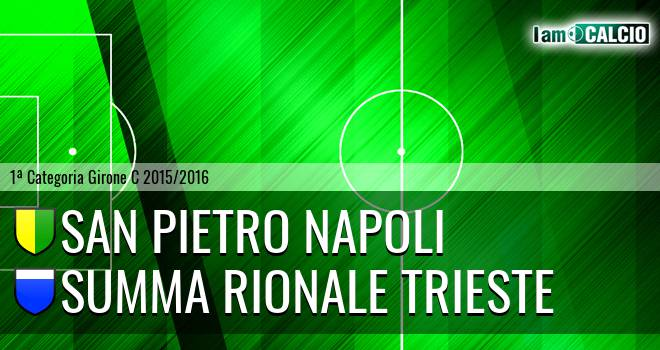 San Pietro Napoli - Summa Rionale Trieste