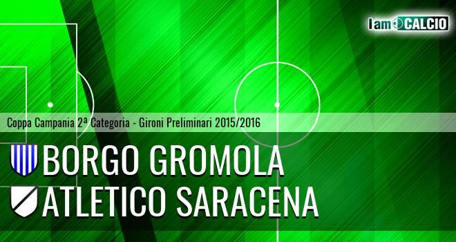 Borgo Gromola - Atletico Saracena