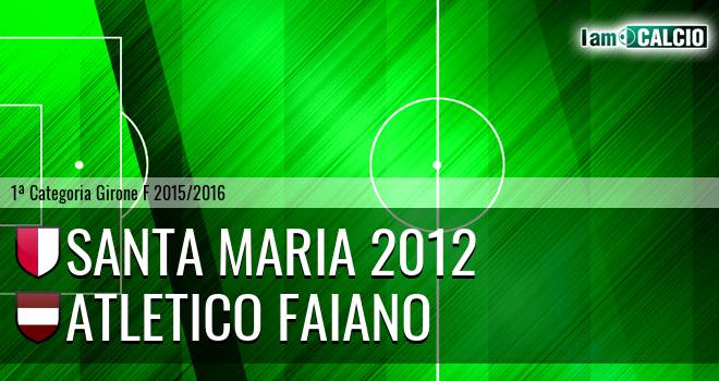 Santa Maria 2012 - Atletico Faiano