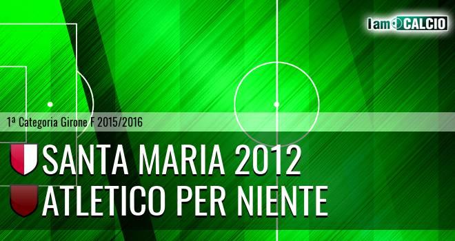 Santa Maria 2012 - Atletico Per Niente