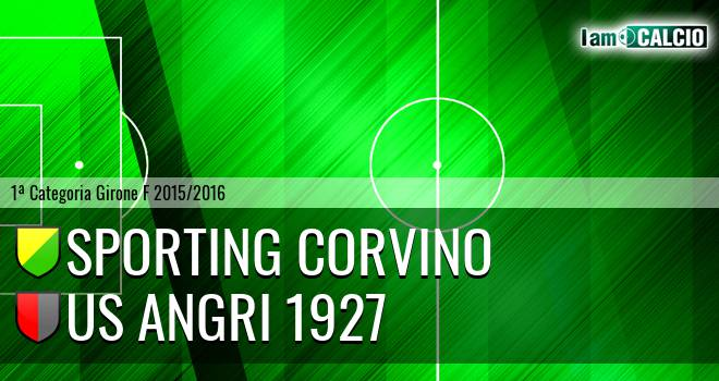 Sporting Corvino - Us Angri 1927