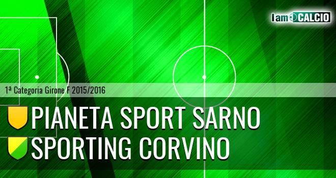 Pianeta Sport Sarno - Sporting Corvino