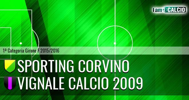 Sporting Corvino - Vignale Calcio 2009