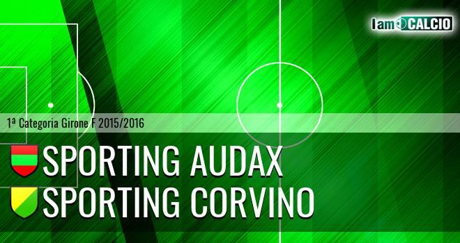Sporting Audax - Sporting Corvino