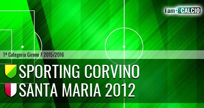 Sporting Corvino - Santa Maria 2012