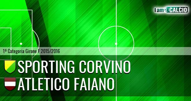 Sporting Corvino - Atletico Faiano