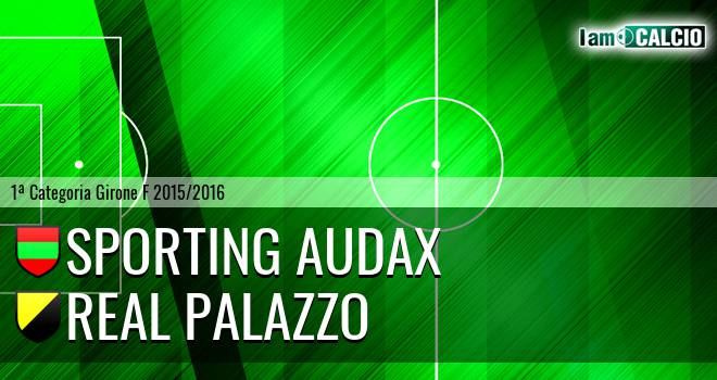 Sporting Audax - Real Palazzo
