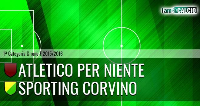 Atletico Per Niente - Sporting Corvino