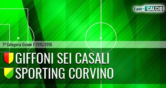 Giffoni Sei Casali - Sporting Corvino