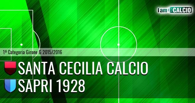 Santa Cecilia Calcio - Sapri 1928