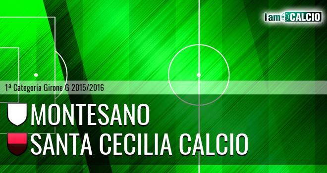 Montesano - Santa Cecilia Calcio