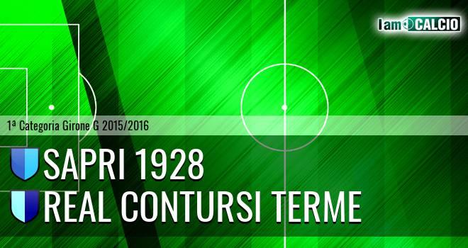 Sapri 1928 - Real Contursi Terme