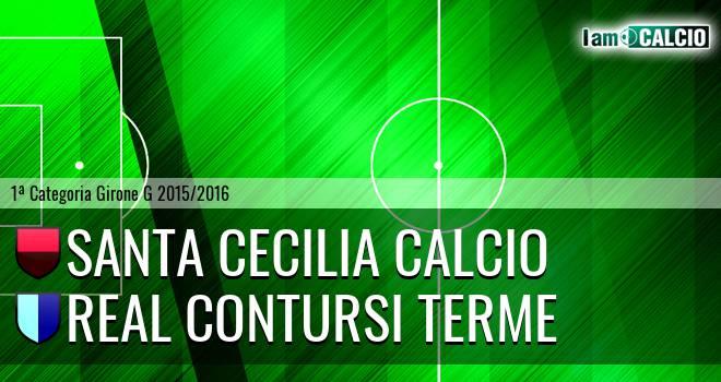 Santa Cecilia Calcio - Real Contursi Terme