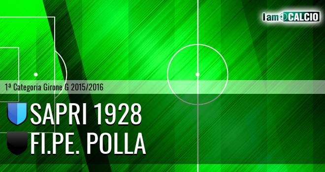 Sapri 1928 - Us Pollese