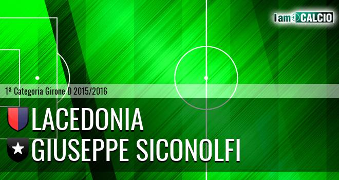 Lacedonia - Giuseppe Siconolfi