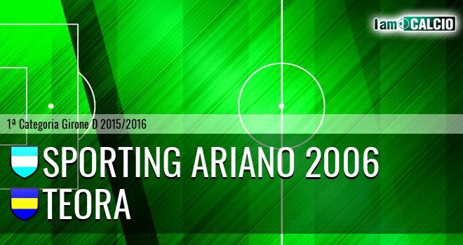 Sporting Ariano 2006 - Real San Martino Valle Caudina