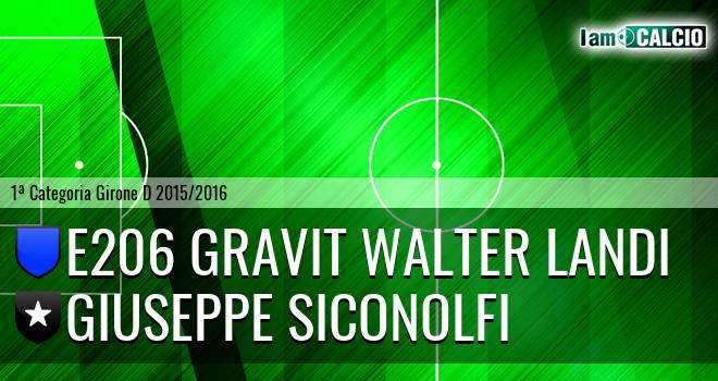 E206 Gravit Walter Landi - Giuseppe Siconolfi