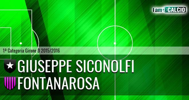 Giuseppe Siconolfi - Fontanarosa