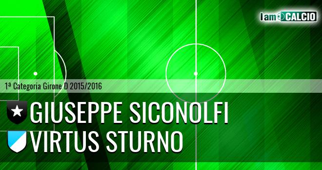 Giuseppe Siconolfi - Virtus Sturno