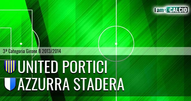 United Portici - Azzurra Stadera