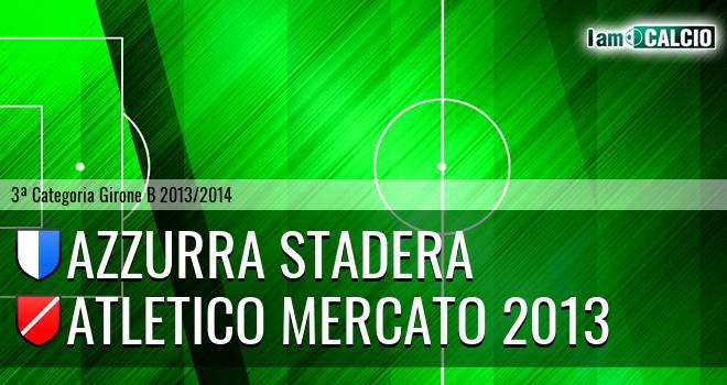 Azzurra Stadera - Atletico Mercato 2013